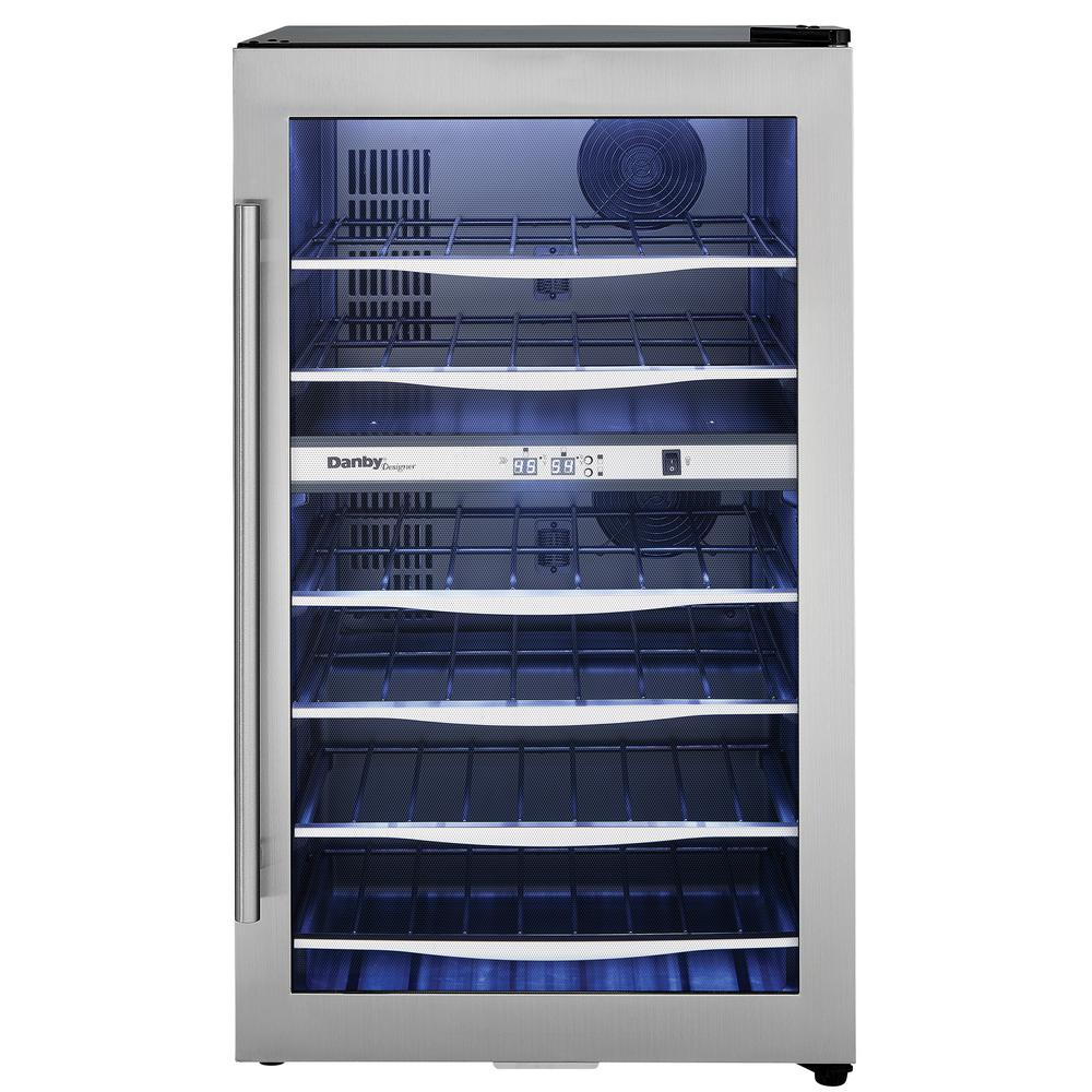 Danby Designer 19.44 in. 38-Bottle Dual-Zone Wine Cooler