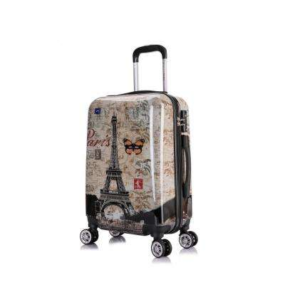 Paris Prints Lightweight Hardside Spinner 20 in. Carry-on