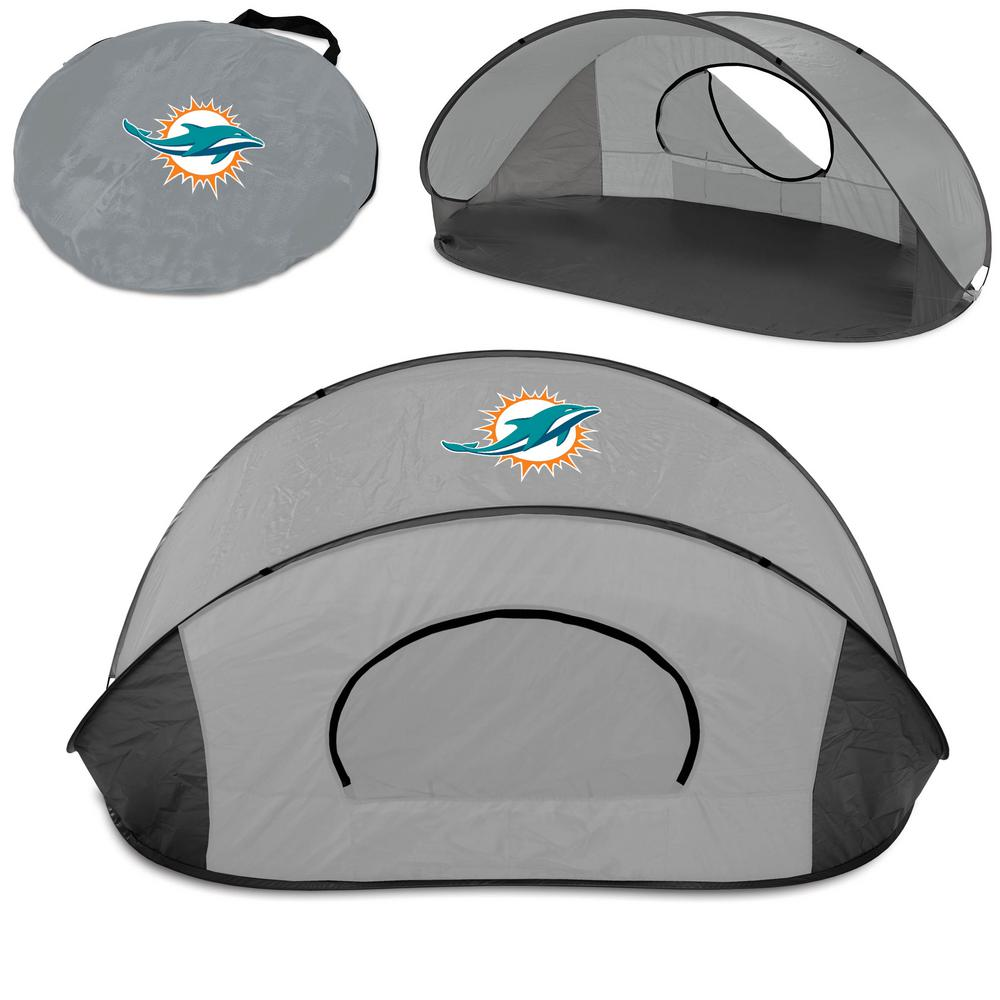 Picnic Time Miami Dolphins Manta Sun Shelter Tent  sc 1 st  The Home Depot & Picnic Time Miami Dolphins Manta Sun Shelter Tent-113-00-105-174-2 ...