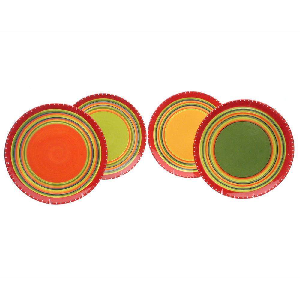 Hot Tamale 11 in. Dinner Plate (Set of 4)