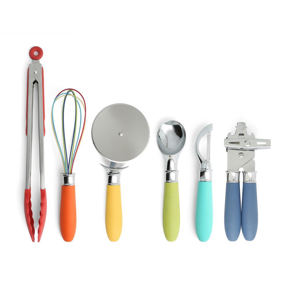 6-Piece Multicolor Gadget Set