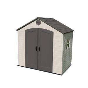 Lifetime 8 ft. x 5 ft. Outdoor Storage Shed by Lifetime