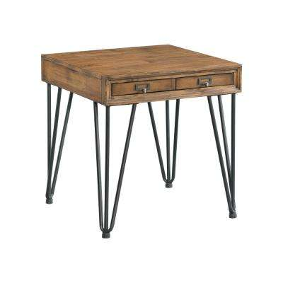 Tanner Light Walnut Transitional End Table