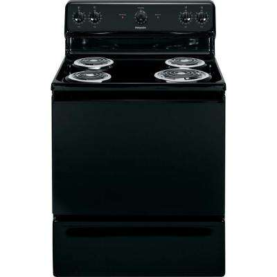 5.0 cu. ft. Electric Range in Black