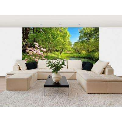 100 in. x 144 in. Park in the Spring Wall Mural