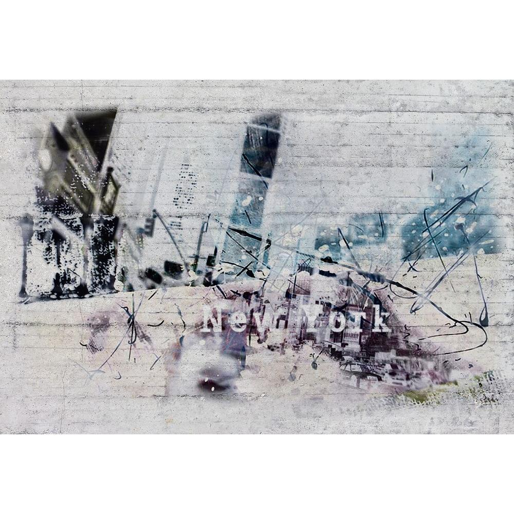 Komar 100 in. x 145 in. New York Wall Mural