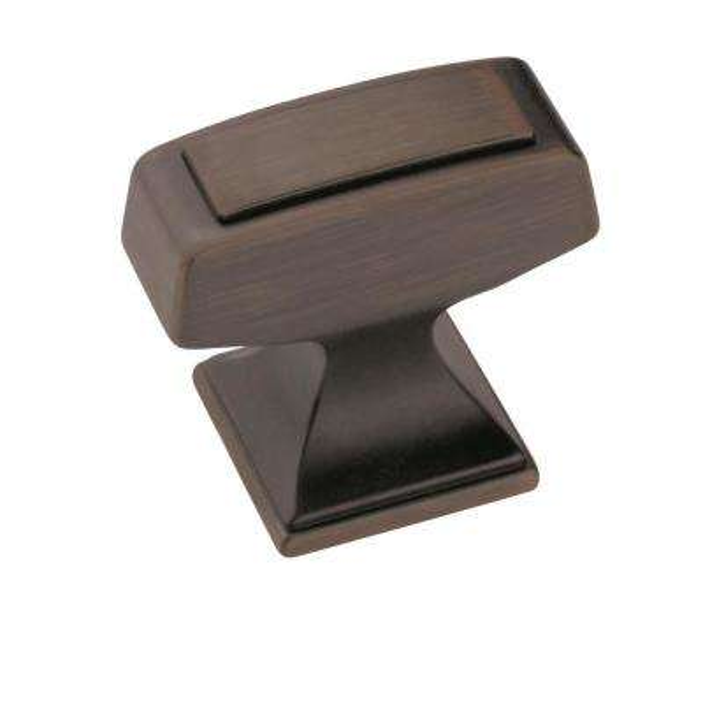 Mulholland 1-1/4 in (32 mm) Length Gunmetal Cabinet Knob