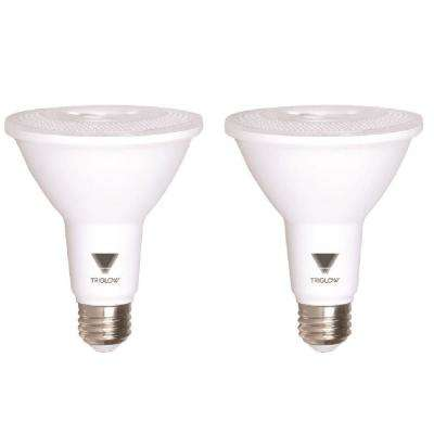 75-Watt Equivalent PAR30 Dimmable ENERGY STAR Certified LED Light Bulb Soft White (2-Pack)