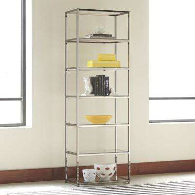 Koch Chrome Bookcase