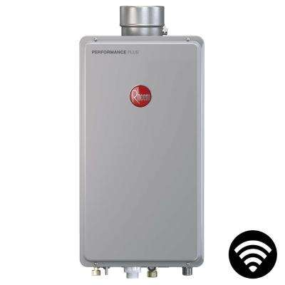 Performance Plus 9.5 GPM Liquid Propane Mid Efficiency Indoor Smart Tankless Water Heater