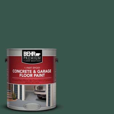 1 gal. #PPF-02 Patio Green 1-Part Epoxy Concrete and Garage Floor Paint