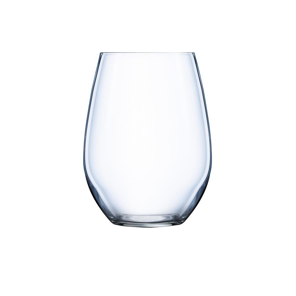 Domaine 6-Piece Stemless White Wine Set