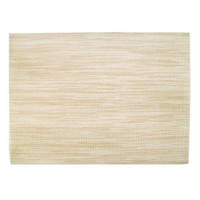 13 in. x 18 in. Indoor/Outdoor Placemat in Desert Sand