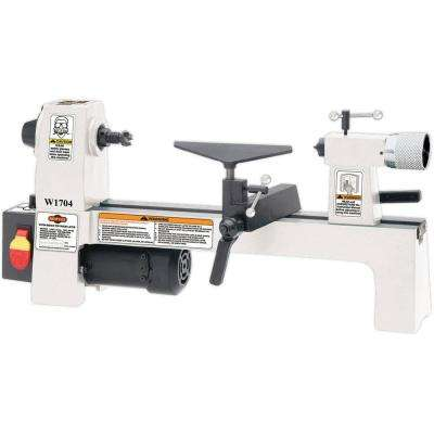 8 in. x 13 in. 110-Volt 1/3 HP Bench-Top Wood Lathe