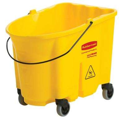 Wave Brake 35 Qt. Mop Bucket