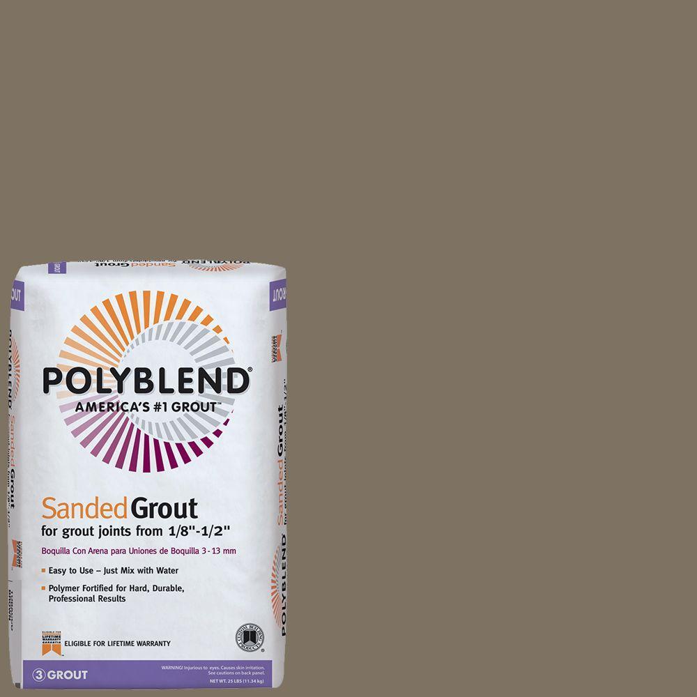 Polyblend #544 Rolling Fog 25 lb. Sanded Grout
