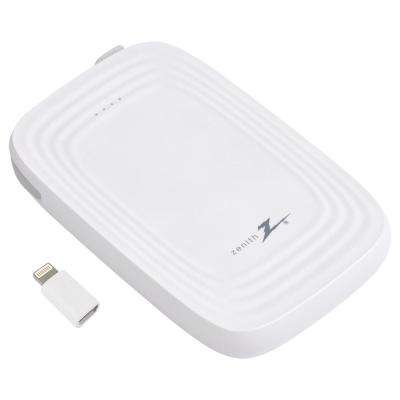 5000mAh Portable Phone Charger, White