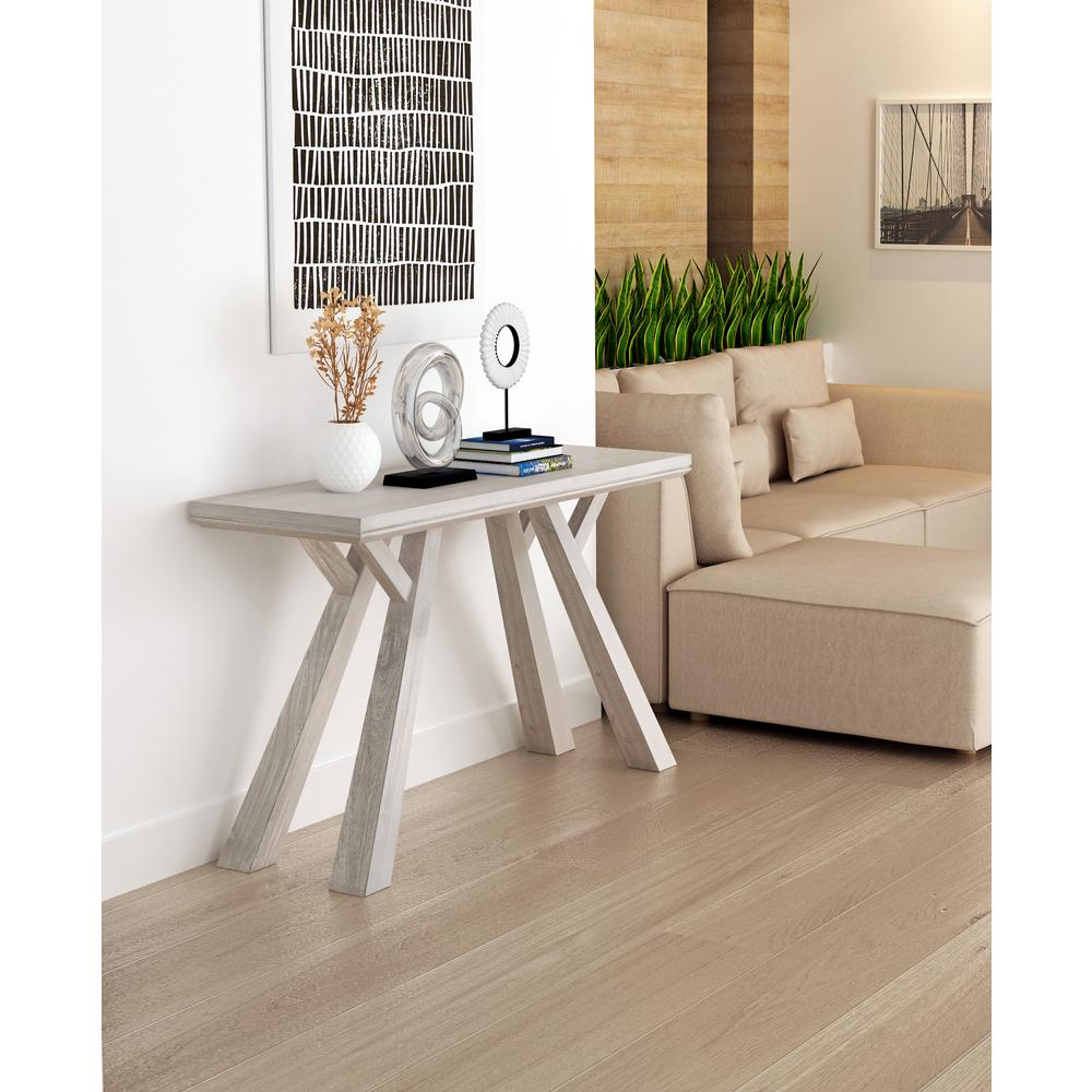 Zuo Beaumont Sun Drenched Acacia Console Table