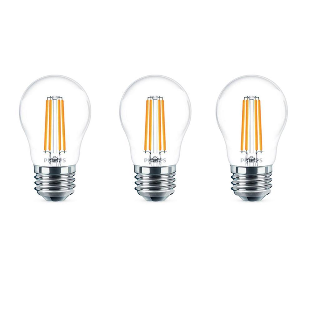 40-Watt Equivalent A15 Dimmable LED Light Bulb Soft White (2-Pack)