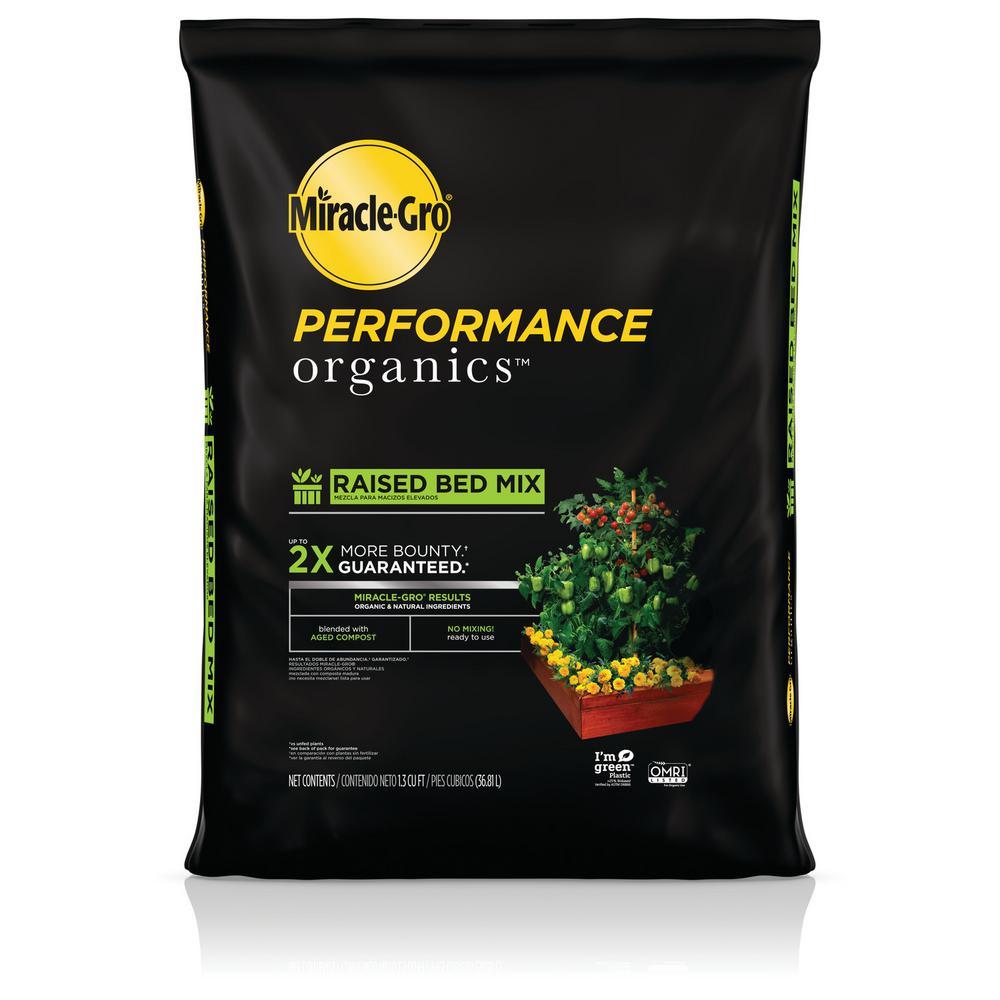 1.3 cu. ft. Performance Organics Raised Bed Mix