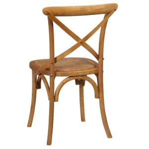 +8. Unbranded Hyde Cane Wood Dining Chair ...
