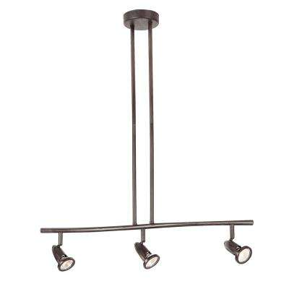 Stingray 2.2 ft. 3-Light Rubbed Oil Bronze Track Lighting Kit