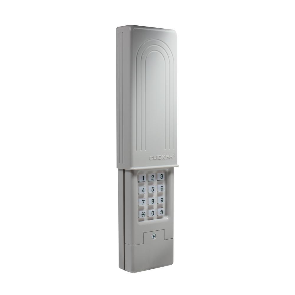 Universal Clicker Garage Door Keypad