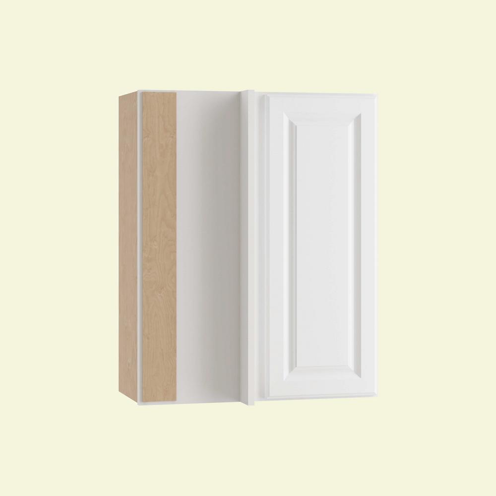 Hallmark Assembled 24x30x12 in. Wall Blind Corner Kitchen Cabinet Left Hand