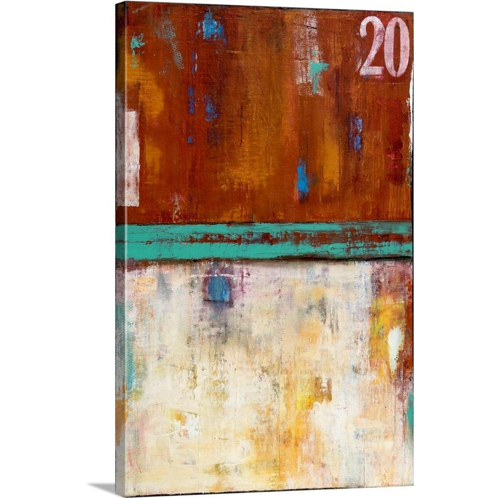 """Rock Side 20"" by Erin Ashley Canvas Wall Art"