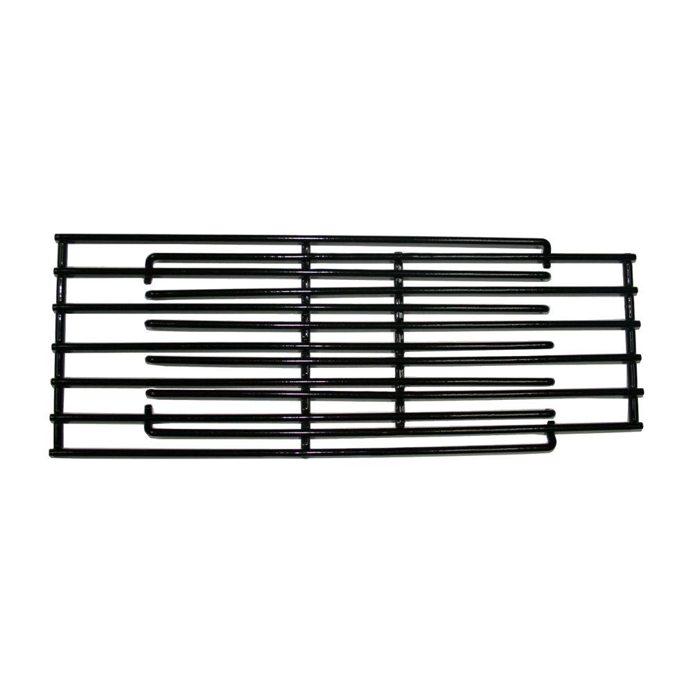 Grill Parts Pro 6 in. Cooking Grate Use the Grill Parts Pro Steel 6 in. Adjustable Cooking Grate to replace your existing cooking grid. This coated steel grate features a non-stick surface for easy clean up and adjusts from 14 to 20 in. in length. The 6 in. width, allows for multiple grids to replace most common sized cooking chambers. Constructed of steel, the extendable cooking grid provides a sturdy and durable replacement, for hard to find sizes of grills and smokers.