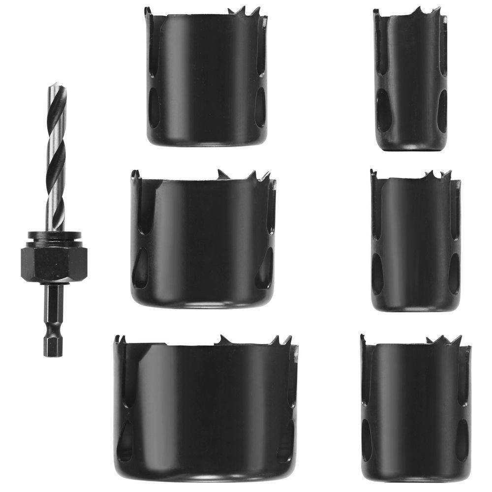 Daredevil Wood Hole Saw Set (7-Piece)