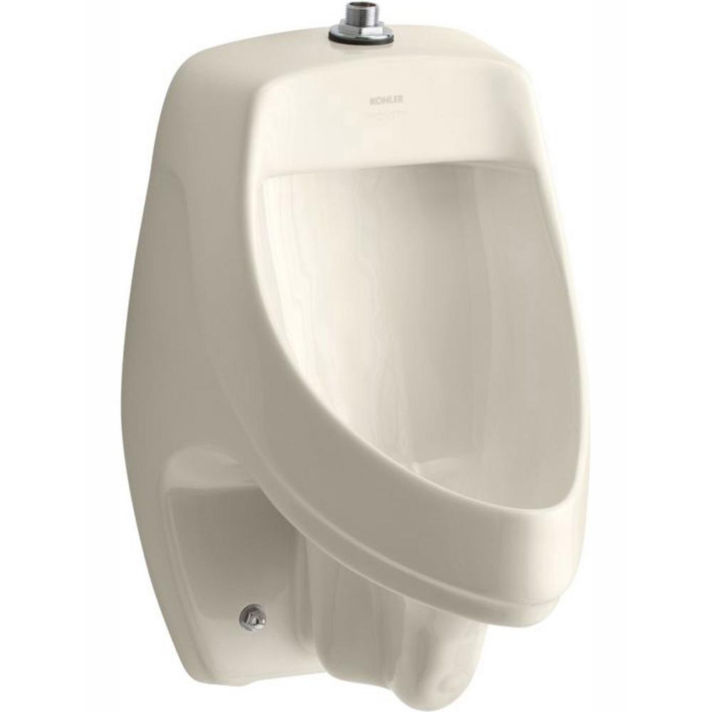 KOHLER Dexter 1.0 GPF Urinal with Top Spud in Almond