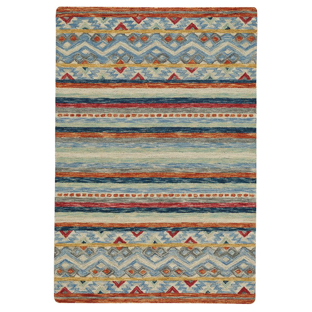 Capel Shakta Kelim Multitone 4 ft. x 6 ft. Area Rug Capel Shakta Kelim Multitone 4 ft. x 6 ft. Area Rug