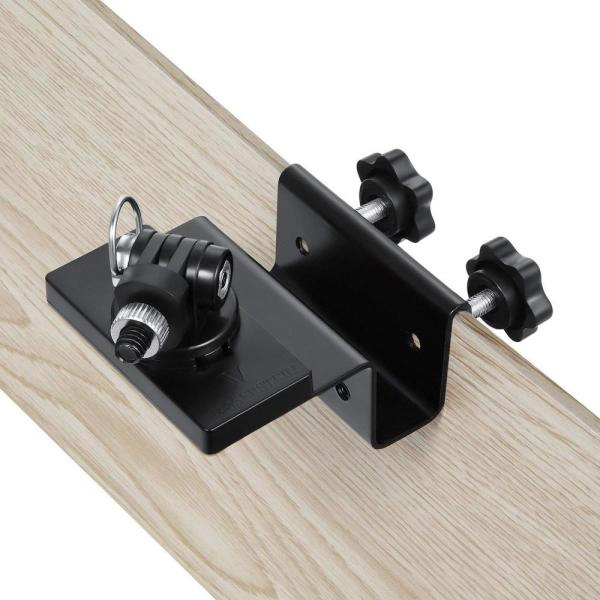 Wasserstein Weatherproof Gutter Mount Compatible with Nest Cam Outdoor with Magnetic Adapter Black Better Placement for Better Protection