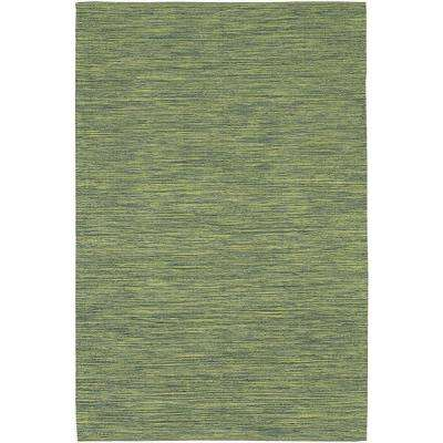 India Green 5 ft. x 7 ft. 6 in. Indoor Area Rug