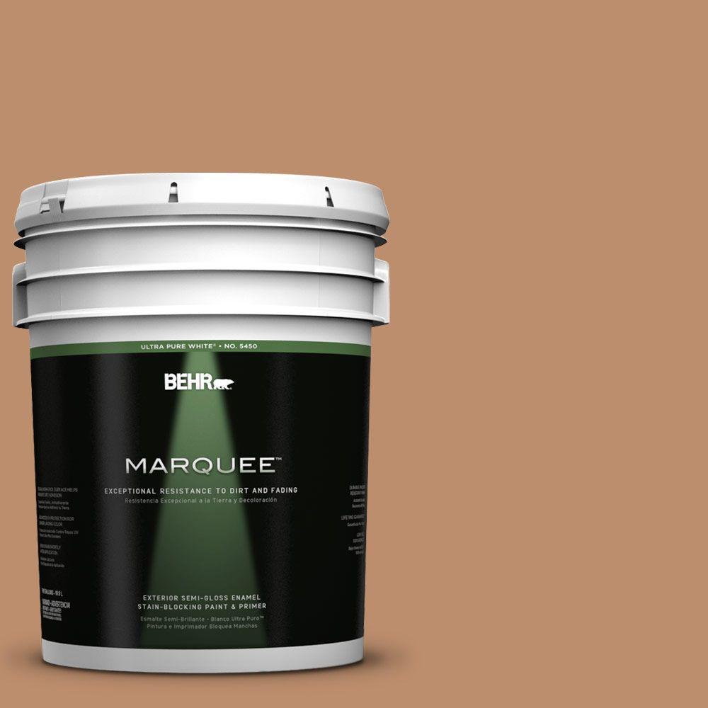 5-gal. #260F-5 Applesauce Cake Semi-Gloss Enamel Exterior Paint