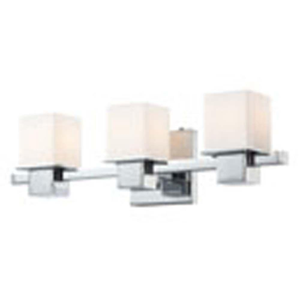 Filament Design Spectra 3-Light Chrome Bath Vanity Light