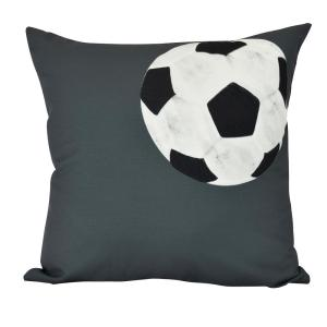 Click here to buy  26 inch Soccer Ball Geometric Print Decorative Pillow.