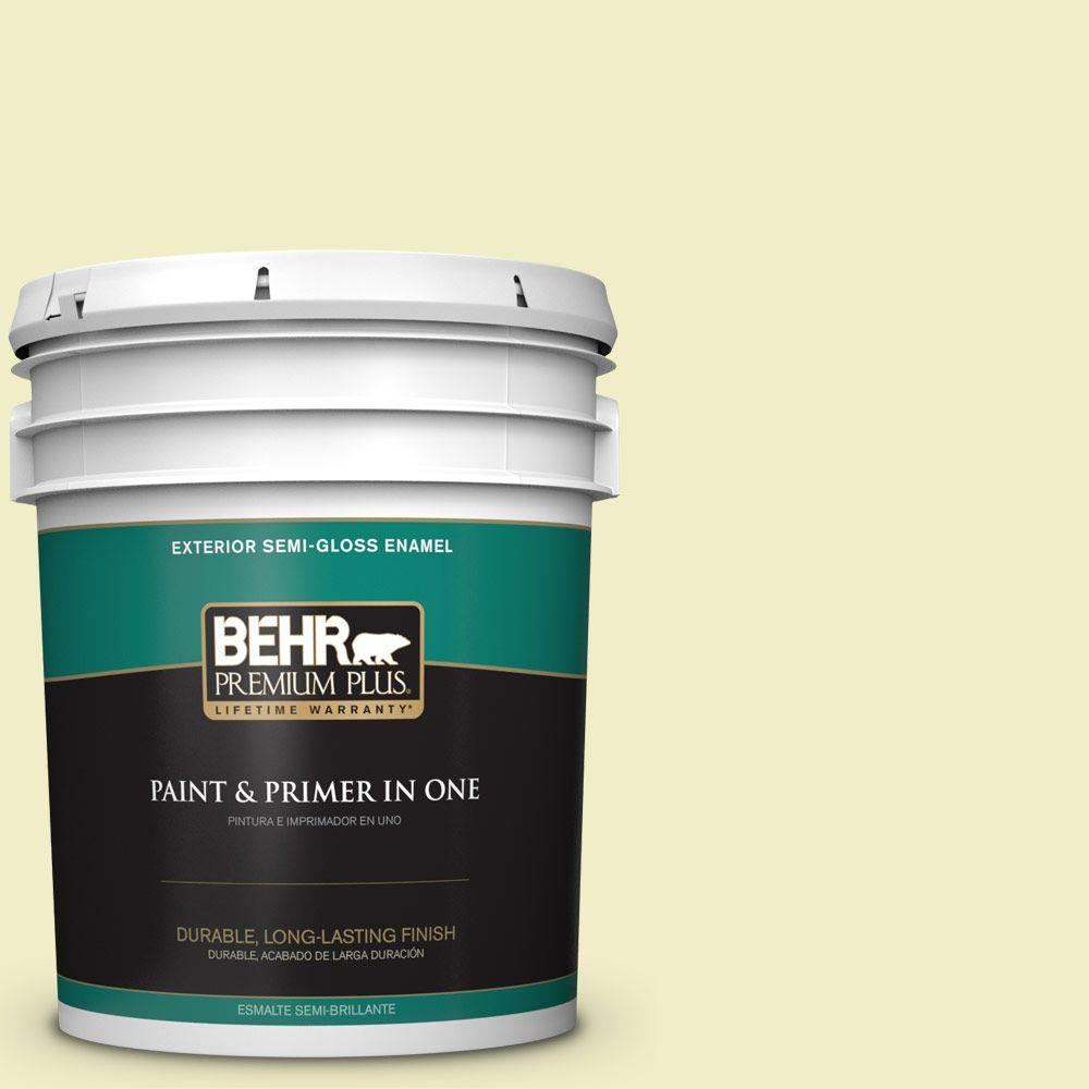5-gal. #400C-2 Home Song Semi-Gloss Enamel Exterior Paint