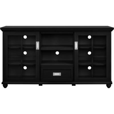 Aaron Black Storage Entertainment Center