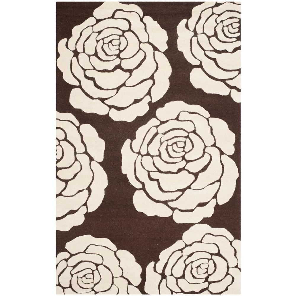 Safavieh Cambridge Brown/Ivory 8 ft. x 10 ft. Area Rug