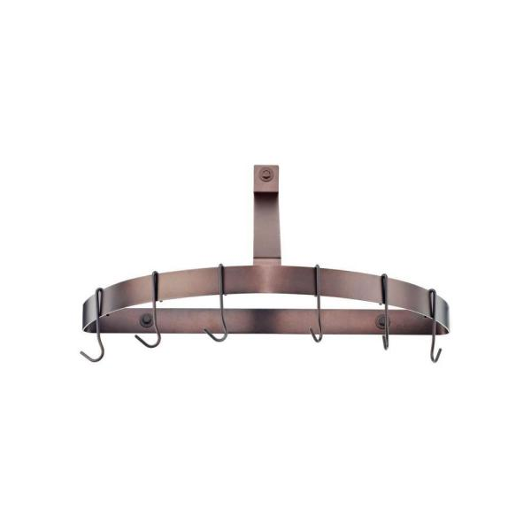 Chef's Classic Cookware Half Circle Wall Rack