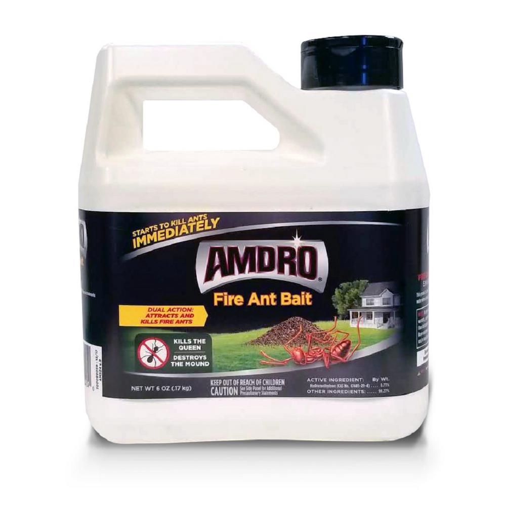 Amdro 6 Oz Fire Ant Killer Bait 100099058 The Home Depot