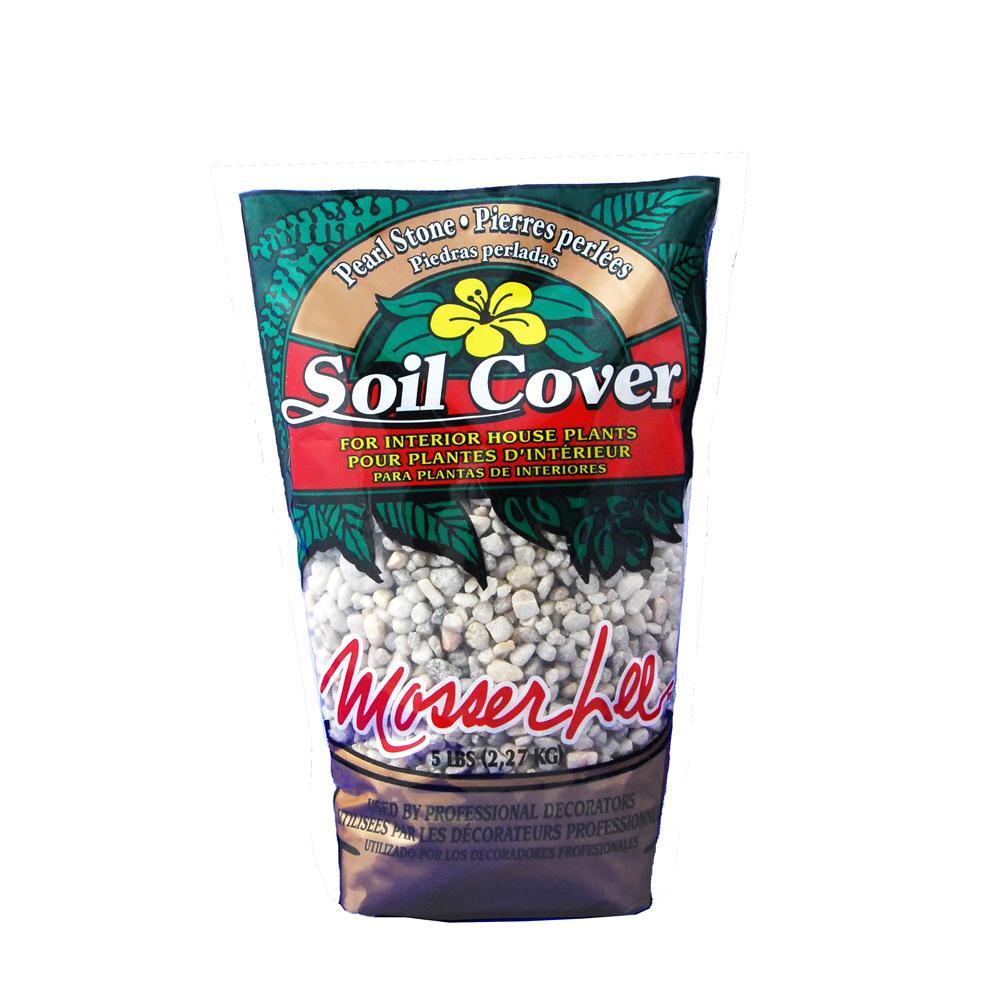 5 lb. Pearl Stone Soil Cover
