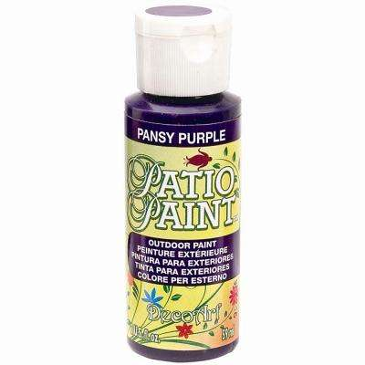 2 oz. Patio Pansy Purple Acrylic Paint