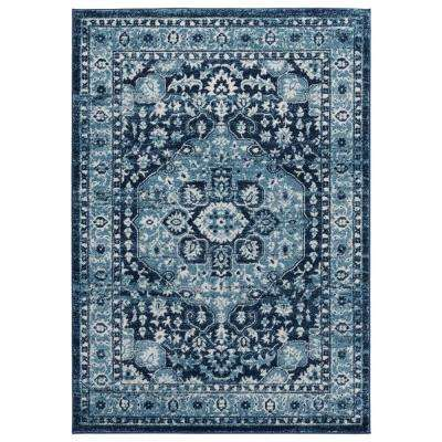 United Weavers Bali Caymen Navy 12 ft. 6 in. x 15 ft. Area Rug