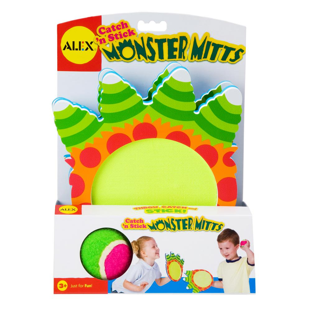 Alex Toys Active Play Catch N Stick Monster Mitts