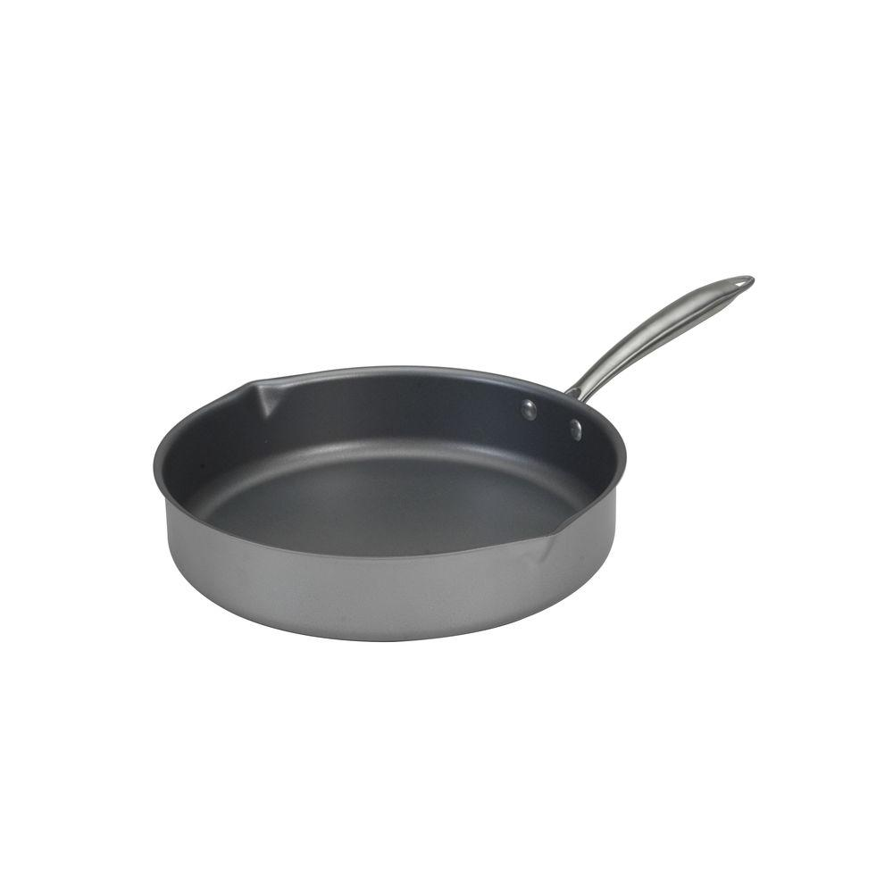 Nordic Ware 12 in. Superior Steel High-Sided Skillet-DISCONTINUED