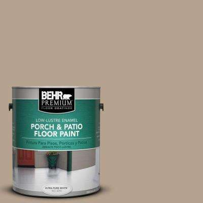 1 gal. #PFC-33 Washed Khaki Low-Lustre Interior/Exterior Porch and Patio Floor Paint