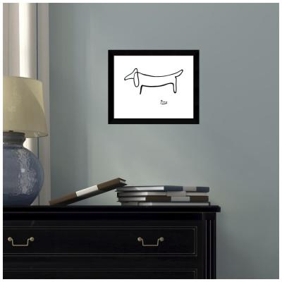 Le Chien (The Dog) by Pablo Picasso Framed Print Wall Art